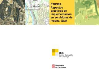 ETRS89: Aspectos prácticos de implementación en servidores de mapas, Q&A