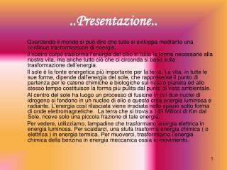 ..Presentazione..