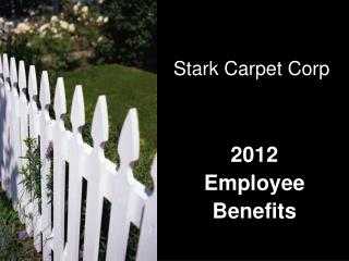 2012 Employee Benefits
