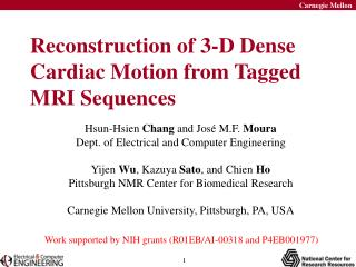 Reconstruction of 3-D Dense Cardiac Motion from Tagged MRI Sequences