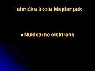 Tehnička škola Majdanpek