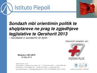 Ricerca n. 051-2013 24 Maj 2013