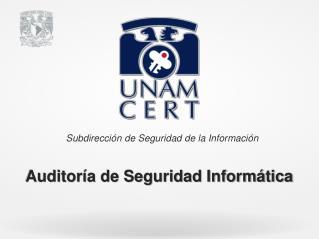 Auditor�a de Seguridad Inform�tica