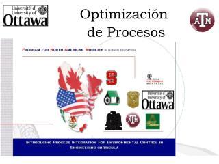 Optimizaci�n  de Procesos