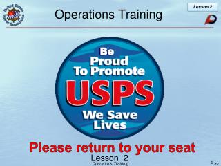 Operations Training