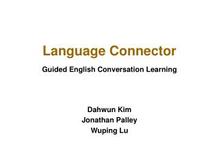 Language Connector