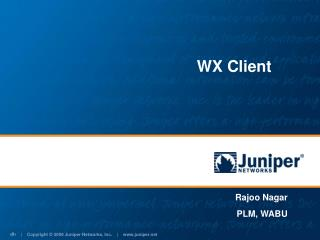 WX Client