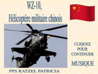 WZ-10,   Hélicoptère militaire chinois