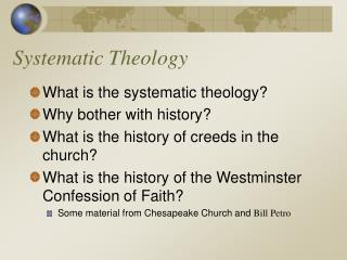 Systematic Theology