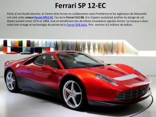 Ferrari SP 12-EC