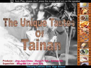 Producer : Jing-Juan Chiou 、 Hung-Yi Yeh 、 Tai-Hua Wu Superviser : Ming-Mei Lin 、 Jack Tsai