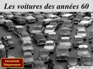 Les voitures des années 60