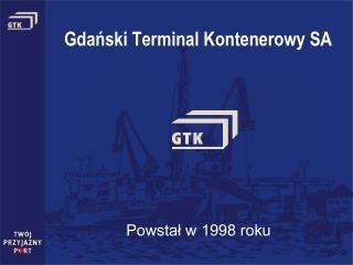 Gdański Terminal Kontenerowy SA