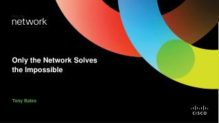 Only the Network Solves the Impossible