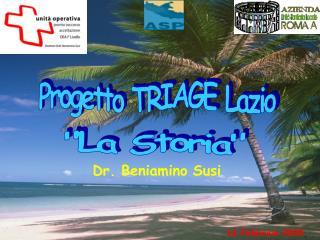 Progetto TRIAGE Lazio