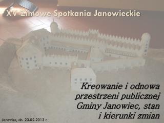 XV Zimowe Spotkania Janowieckie
