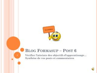 Blog Formasup – Post 6