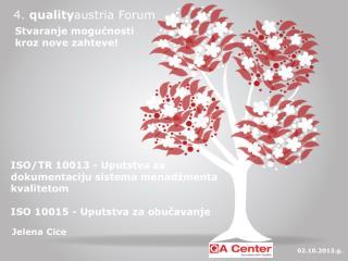 4.  quality austria  Forum