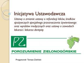 Inicjatywa Ustawodawcza