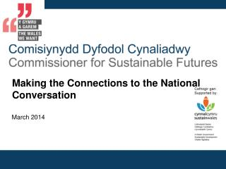 Making the Connections to the National Conversation