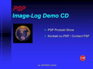 PSP Image-Log Demo CD