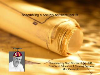 Assembling a security software tool kit
