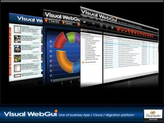 Web/Cloud UI platform enterprise data centric applications Cloud & Web