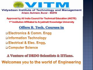 Approved by All India Council for Technical Education (AICTE)