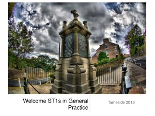 Welcome ST1s in General Practice