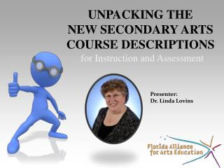 Unpacking the New Secondary Arts Course Descriptions