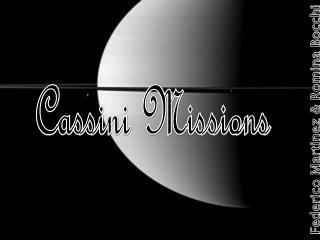 Cassini Missions