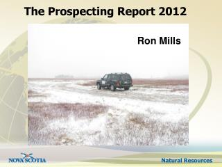 The Prospecting Report 2012