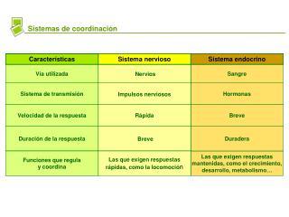 Sistemas de coordinaci�n