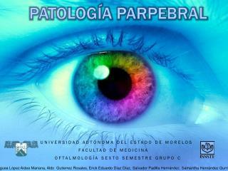PATOLOGÍA PARPEBRAL