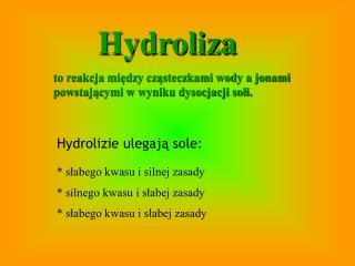 Hydroliza