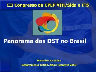Ministério da Saúde Departamento de DST, Aids e Hepatites Virais