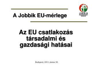 A Jobbik EU-mérlege