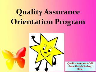 Quality Assurance Orientation Program