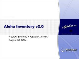 Aloha Inventory v2.0
