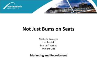 Not Just Bums on Seats