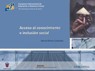 Acceso al conocimiento e inclusión social