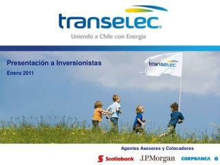 Presentación a Inversionistas Enero 2011