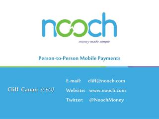 Person-to-Person Mobile Payments