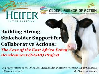 Building Strong Stakeholder Support for Collaborative Actions: