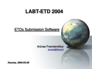 LABT-ETD 2004