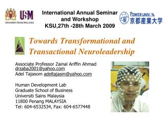 Towards Transformational and Transactional Neuroleadership