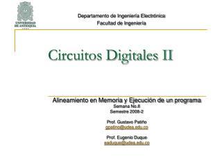 Circuitos Digitales II