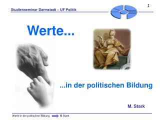 .. der politischen Bildung