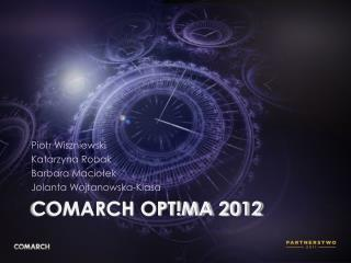 comarch opt!ma  2012