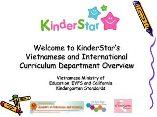 Vietnamese Ministry of Education, EYFS and California Kindergarten Standards